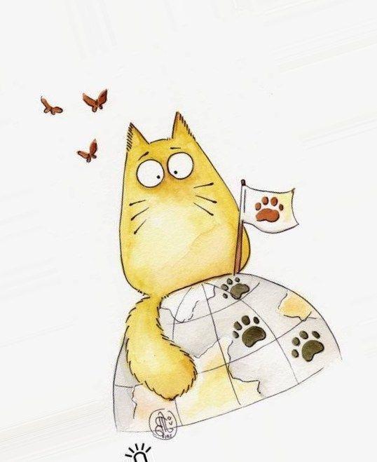 рисовать кота поэтапно начинающих