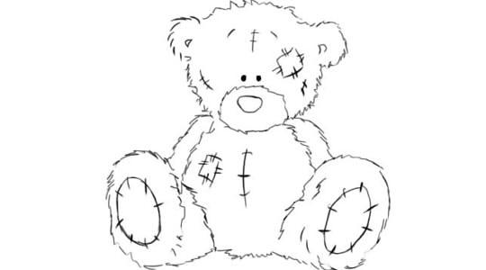 как рисовать тедди