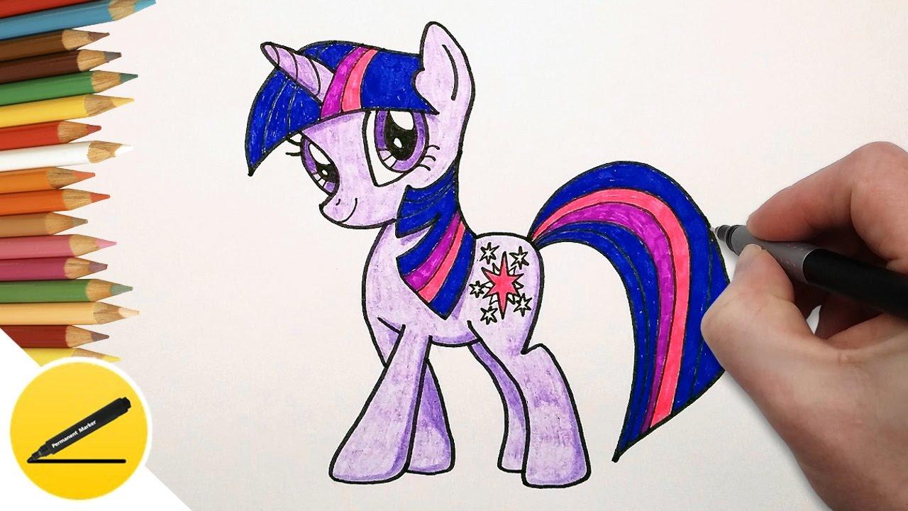 рисовать маи литл пони