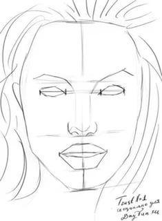 как нарисовать портрет для начинающих