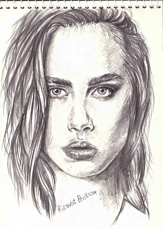 как нарисовать портрет