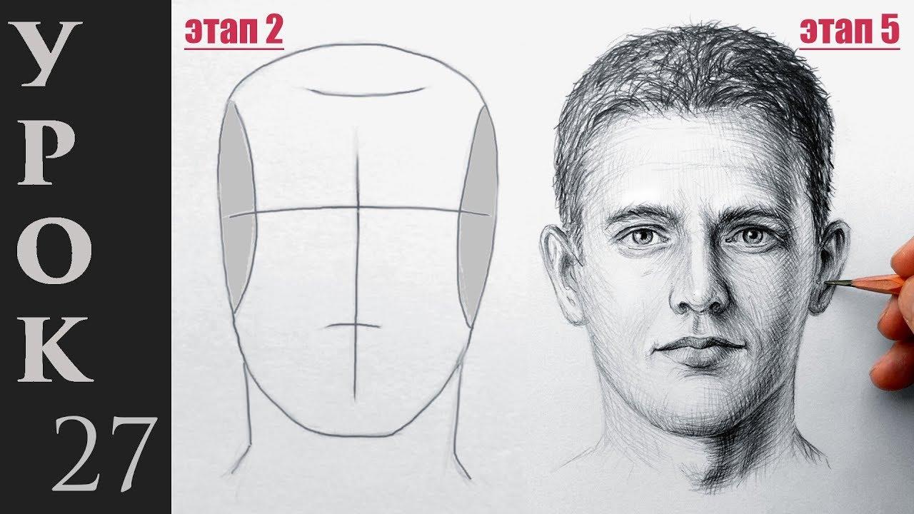 как красиво нарисовать портрет
